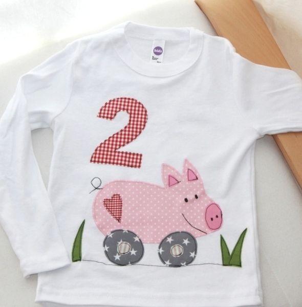 """Langarmshirts - Geburtstagsshirt """"Susi Sausewind"""" langarm - ein Designerstück von Wichtelland bei DaWanda"""