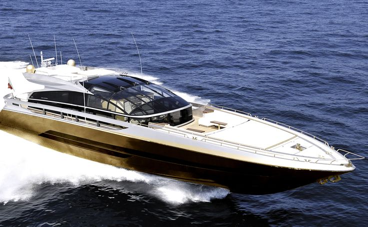 Worlds most expensive yacht made of gold, platinum & T-Rex bones. #crazy