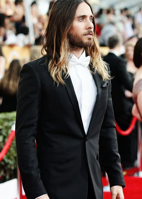 Jared Leto long hair done right