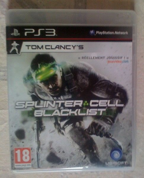 Jeu Video pour Playstation - PS3 - Splinter Cell - Blacklist