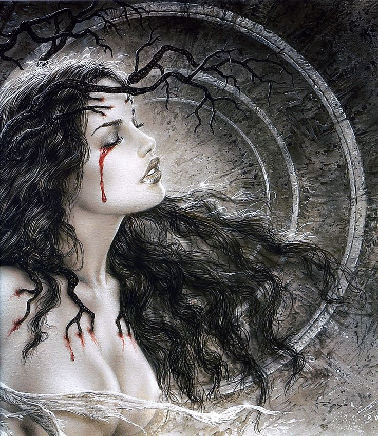 my favorite by Luis Royo <3