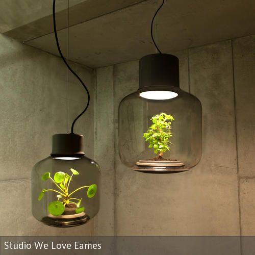 Vintage Mygdal Pflanzenlampe