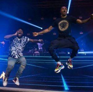 VIDEO: Davido Wizkid Shutdown UK Concert With Manya Performance || WATCH