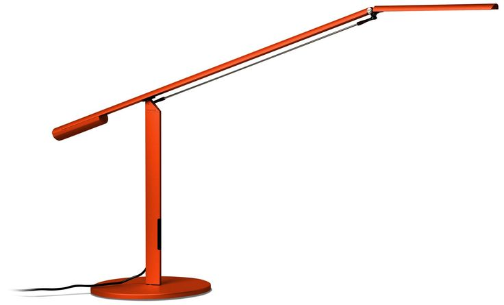 Koncept Gen 3 Equo Warm Light LED Orange Desk Lamp -