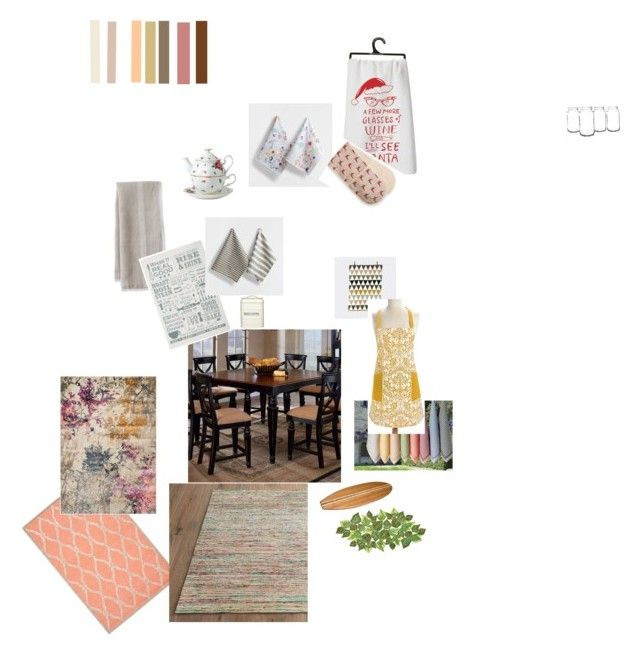 Untitled #4 by laila-riiski on Polyvore featuring interior, interiors, interior design, home, home decor, interior decorating, Home Decorators Collection, Dalyn, Kim Seybert and Royal Albert