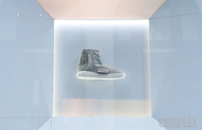 adidas' NYC Store Already Has the Yeezy Boost on Display | Complex
