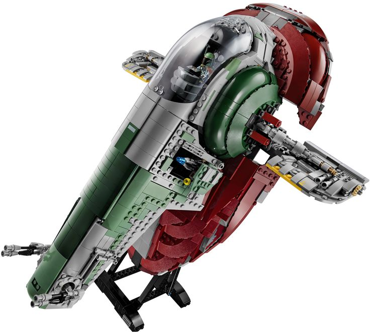 OH JESUS-FREAKING-YODA-ON-A-POGO-STICK! YES! I've waited for this for a very long time, but at last is here: The Slave I—Boba Fett's bounty hunter ship from The Empire Strikes Back—has been revealed and it's freaking cool—gorgeous 1,995-piece minifig scale model full of great details.