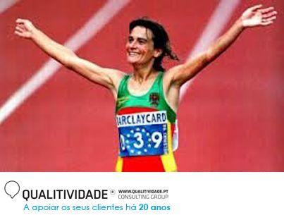 Lembra-se do que aconteceu há 20 anos?  Manuela Machado ganha a medalha de prata na maratona dos Mundiais de Atletismo, em Estugarda (Agosto)