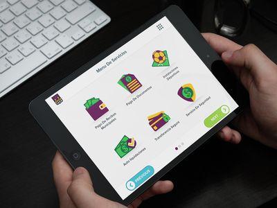 Home Screen & Icon Design for KIOSK Application