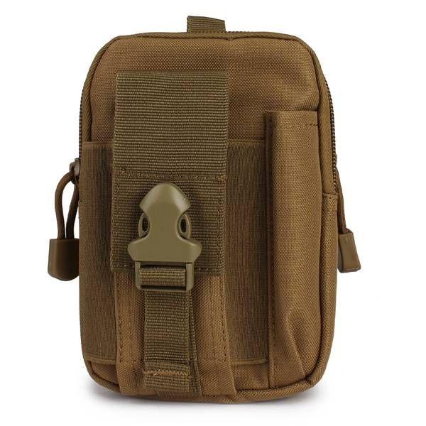 EU Direct | D30 Men's Tactical Waist Bags Outdoor Sport Saddlebag Purse Mobile Phone Case fo