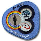 NASA Skylab 3 SL-4 4 Mission Patch Skyklab 3 was the third crew to inhabit the orbiting space station but was officially named Skylab 4 to include