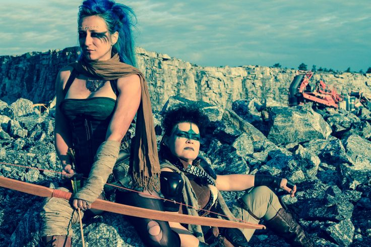 Mad Max inspired photoshoot in Masku 2015. Photo: Mad Kitty Lomax / Magdalena Hai