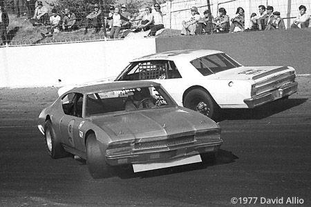 Hickory Speedway 1977 Clarence Ogle Benny Kerley Nova