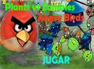 Plants vs Zombies Angry Birds   Juegos Plants vs Zombies - Plantas contra zombies