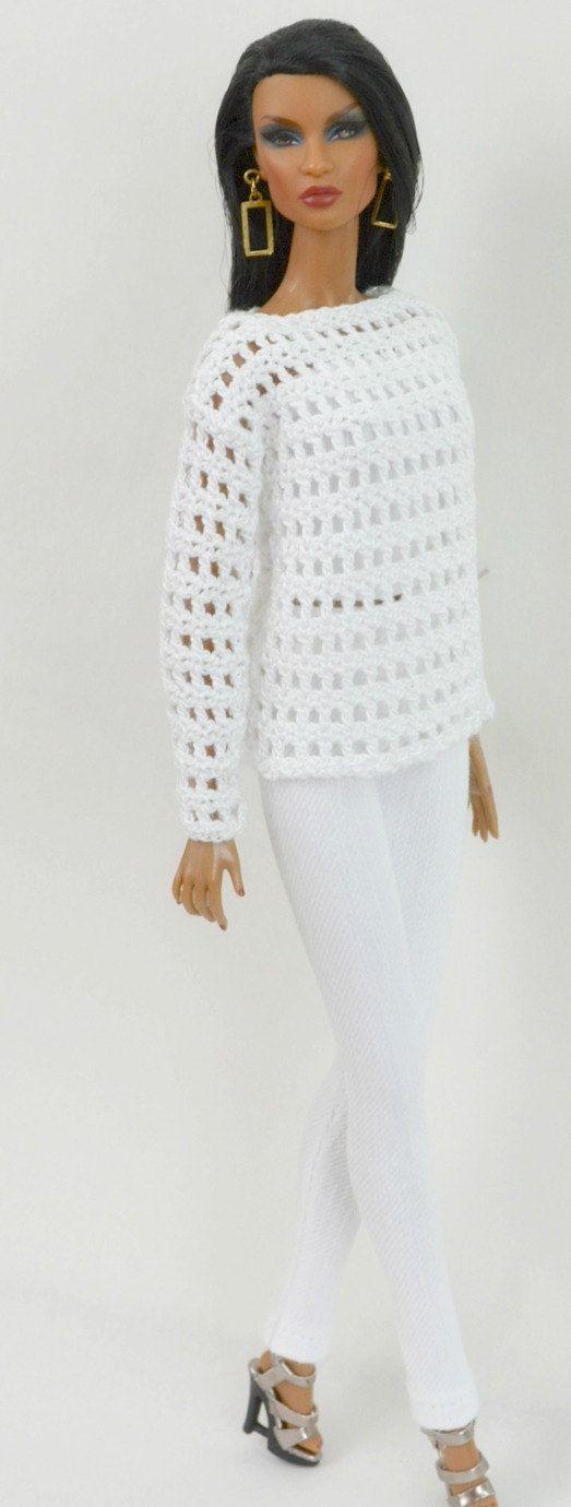 3 piece fashion custom made for Fashion Royalty by ThreadsNeedles
