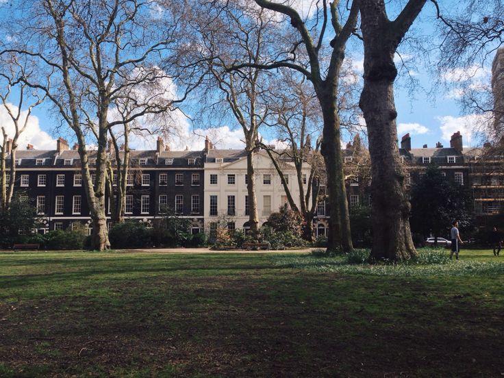 #NYU #London | Bedford Square gardens