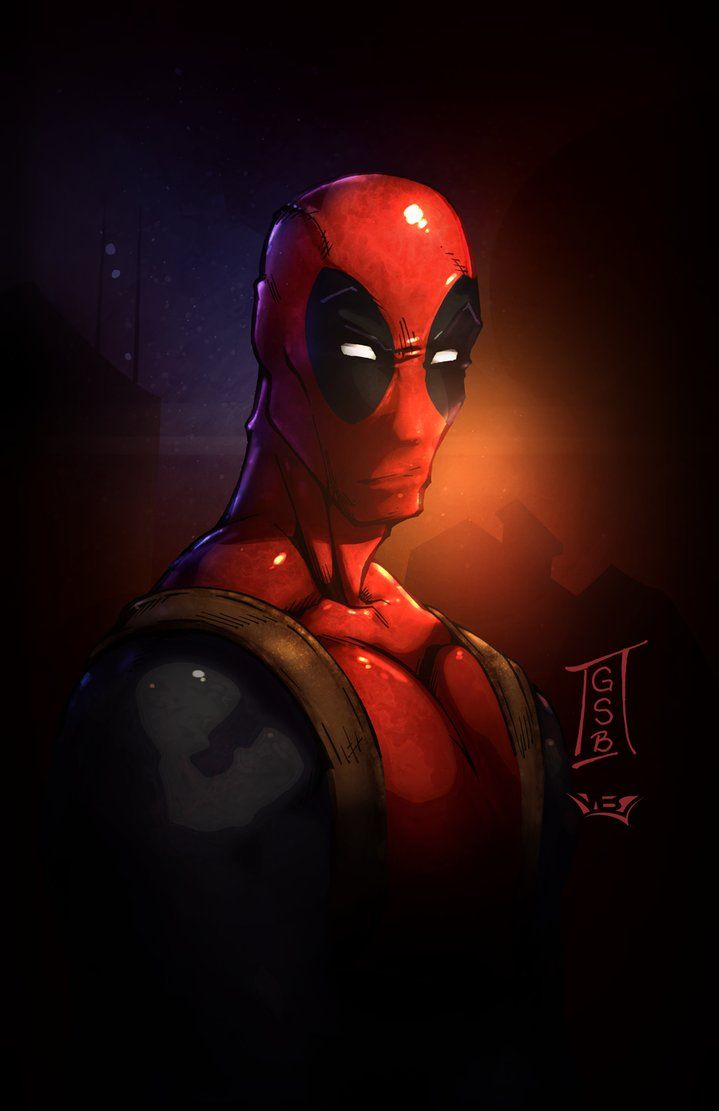 Pin By Hero World On Deadpool Head And Shoulder Pinterest