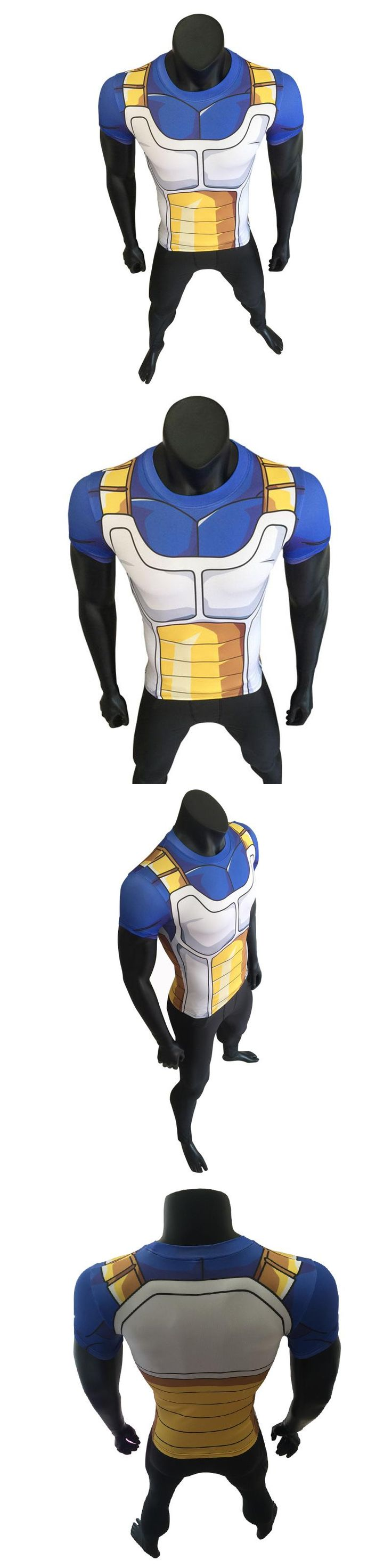 Dragon Ball T Shirt Men Clothes bodybuilding Tops T-Shirt Cosplay 3D Compression Tees Fitness Male Crossfit Short Shirt Homme