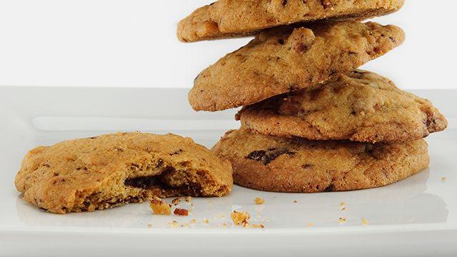 Bourbon Bacon Chocolate Cookies