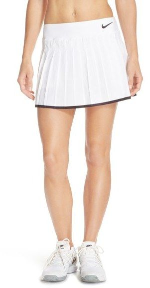 reebok white tennis skirt