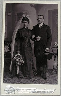 If a man remarried soon after his first wife died, the second wife was expected to mourn the first wife! She was to wear all of the clothing for all of the stages of mourning.