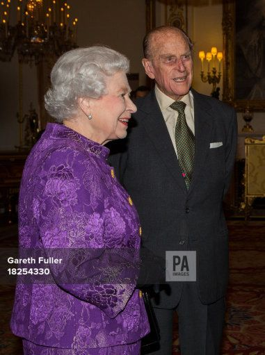 Queen Elizabeth II and the Duke of Edinburgh host a Reception for Contemporary British Poetry at Buckingham Palace, London.