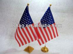 desk flag holder