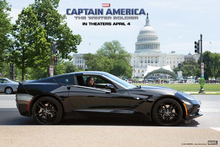 Corvette Stingray From New Captain America Movie Bows In Chicago