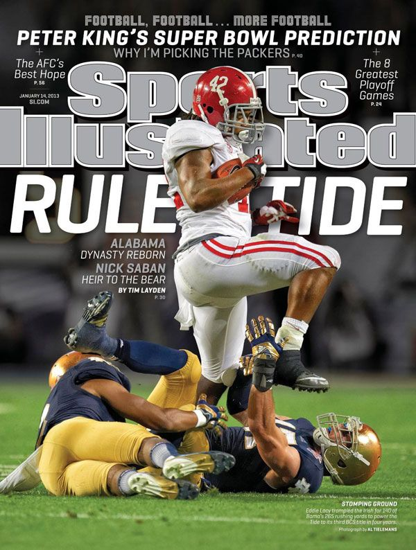 Alabama Football Featured On SI Cover > SEC > NEWS
