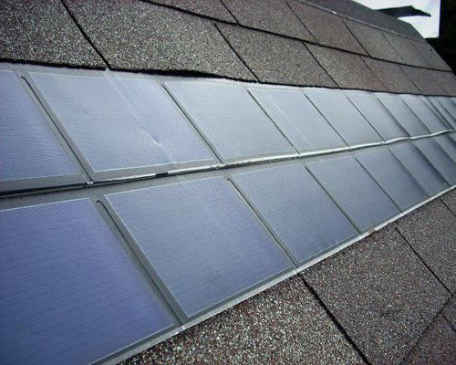 how to safely clean solar pannel on the roof