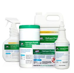 Medical Hydrogen Peroxide Cleaner & Disinfectant | Clorox Healthcare