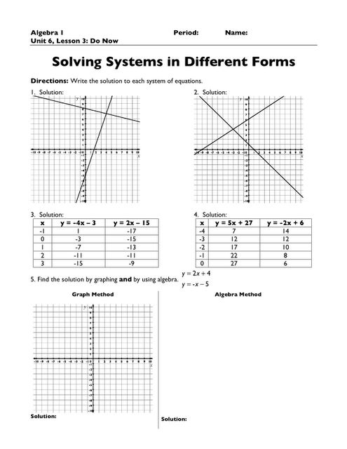 the 25 best systems of equations ideas on pinterest review of systems algebra and solving. Black Bedroom Furniture Sets. Home Design Ideas