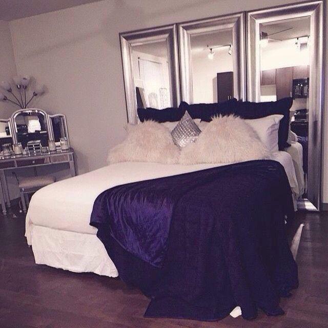 25 Best Ideas About Mirror Headboard On Pinterest Mirror Furniture Beautiful Bedroom Designs