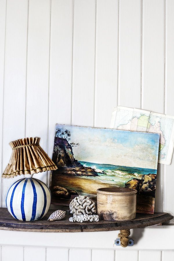 Beautiful coastal decor with attention to detail and styling