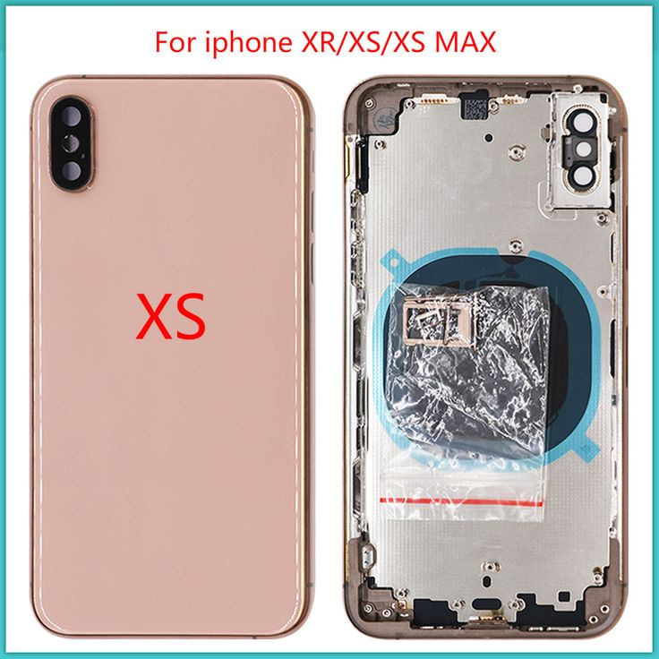 Original for iphone xr xs xs max rear housing case battery