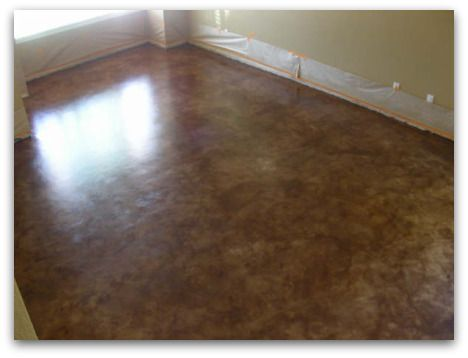 How To Stain Concrete Floors – The Easy Way