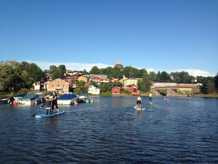 City of Porvoo, in collaboration with Erimover arranges SUP equipment rental,  SUP-courses, SUP- yoga, and SUP - paddeling excursions. www.visitporvoo.fi