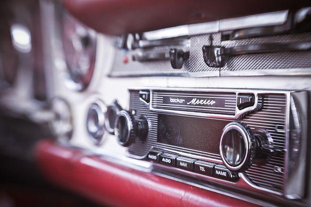 Becker Mexico Retro 7948, Old Mercedes SL 280 W113 by BobVerwiel, via Flickr