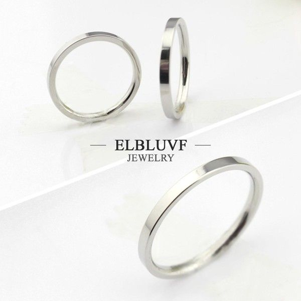 Thin Silver Unisex Stackable Band Rings Simple Band Rings Layering Rope Detail Band Ring Slim Band Rings Celtic Design Band Rings