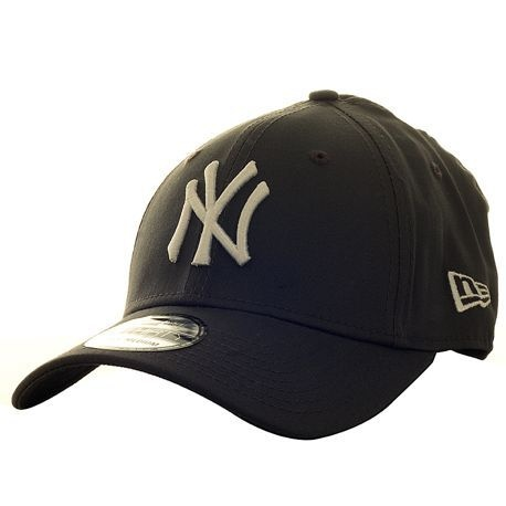 Casquette New Era Cap NY Thirty Grise Anthracite/Blanche