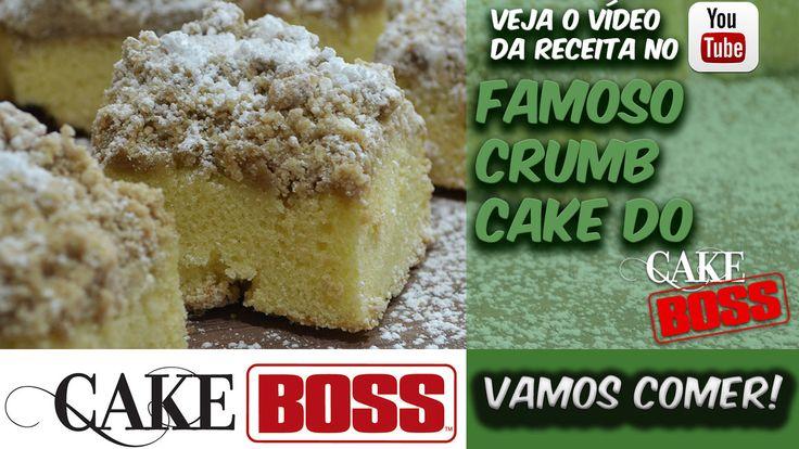 FAMOSO CRUMB CAKE DO CAKE BOSS! Uma das melhores receitas que eu já fiz, realmente é muito bom!  Corre lá pra ver a receita e o preparo ==> http://bit.ly/Eduardo_Sachs  Se inscrevam no canal e compartilhem!!!