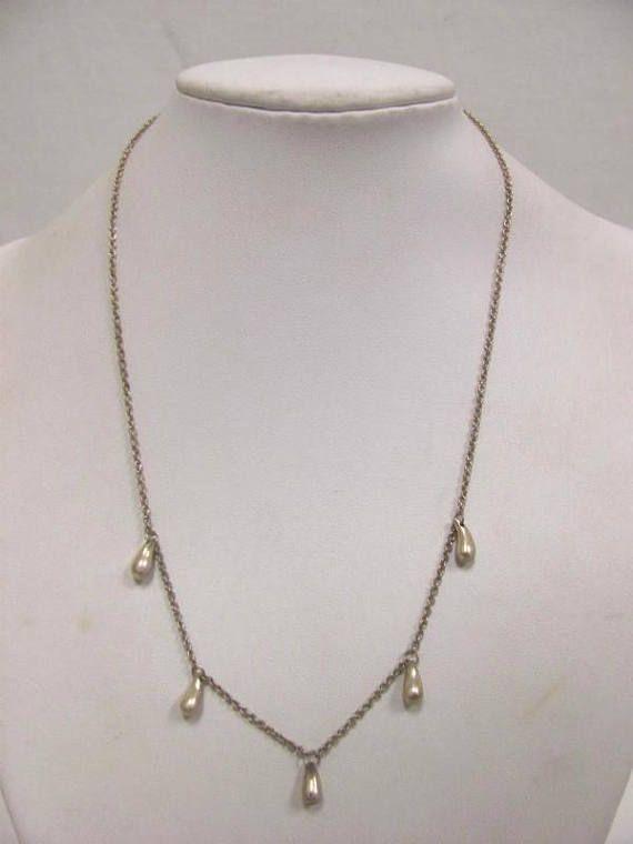 6d6cfb61a Tiffany & Co. Sterling Silver Elsa Peretti Teardrop Necklace | Love ...