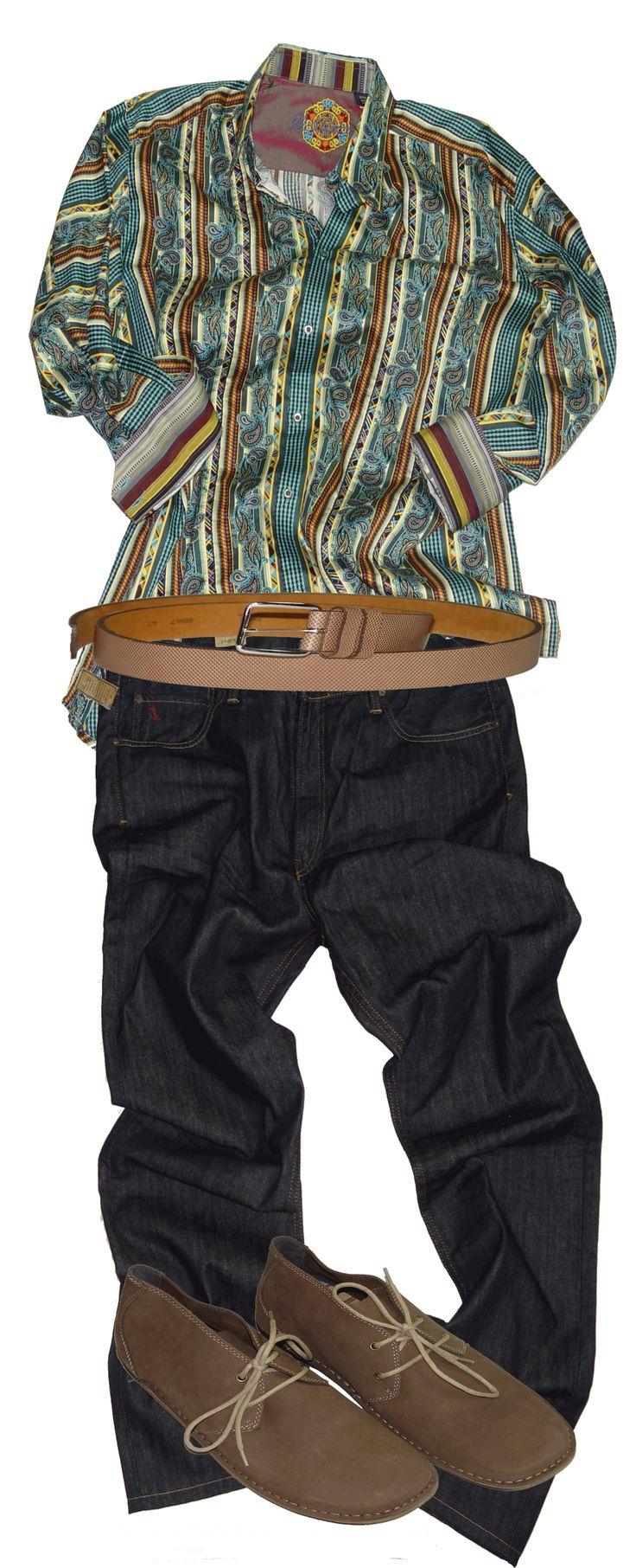 Casual fridays robert graham shirt bigandtall 39 cause for Robert graham tall shirts