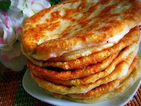 Самые вкусные рецепты: Сырные лепешки с ветчиной и грибами