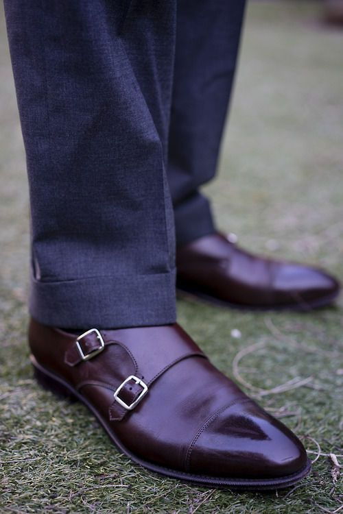 #mens #leather #shoes Double monks have such a clean, minimal appearance that I can help but love them. Leathercore.com