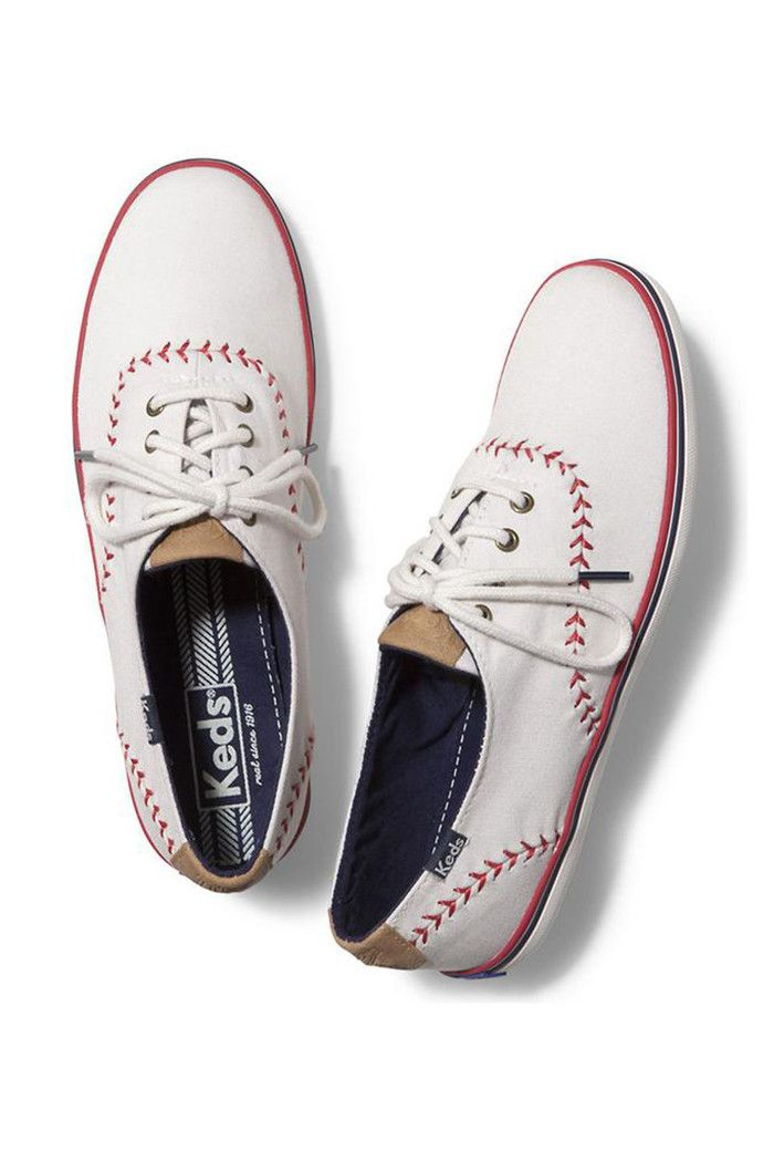 Keds Tennis Shoes With Baseball Stitching