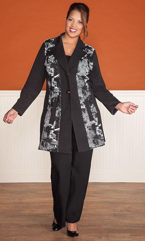ALASTAIR JACKET / MiB Plus Size Fashion for Women / Fall Fashion / Career / Plus Size Jacket / http://www.makingitbig.com/product/alastair-jacket