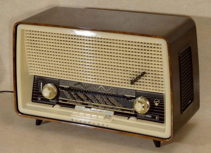 Vintage German Tube Radio Blaupunkt Sultan 20200 Produced