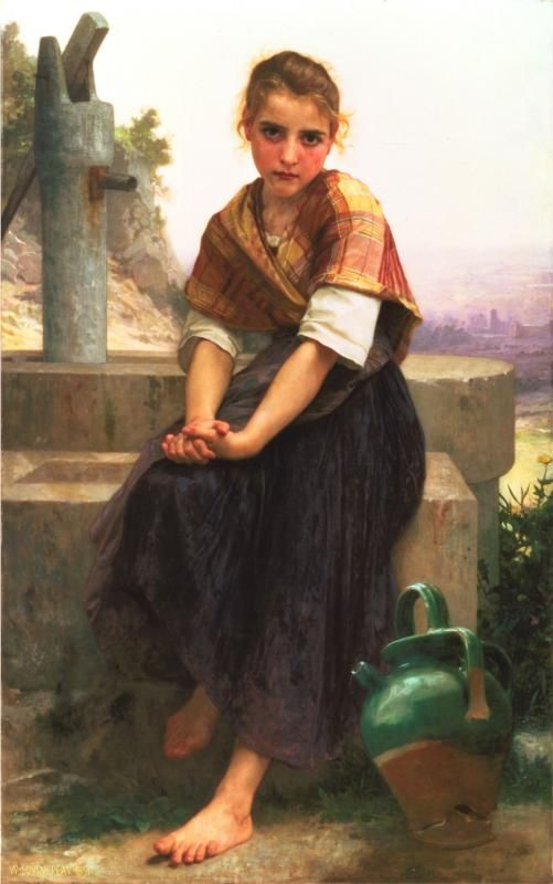 The Broken Pitcher, 1891