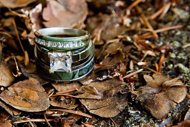 Camo rings by JessicaLemmons, via Flickr